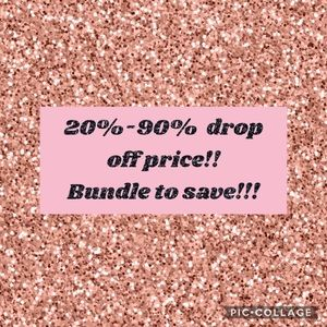 20%-90% Drop off prices!!